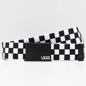 Vans Deppster Black and White Checkered Web Belt